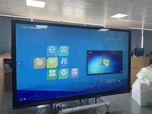 DIY 43 inch interactive touch screen lcd display with PC buit in