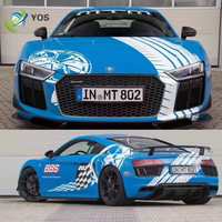 Sports car sticker FOR R8 GTR aventador IP750 racing car appearance modified full body decoration sticker decal