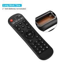 Télécommande de décodeur de contrôle précis> télécommande de boîte de TV de Distance de 8m pour EVPAD