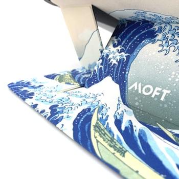 MOFT обеспечивает мгновенную регулируемую подставку для вашего ноутбука, клейкая невидимая Складная портативная Подставка для iPad MacBook ноутбука