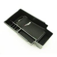 Uma pequena mudança central caixa de armazenamento caixa de apoio braço caixa de armazenamento caixa de armazenamento capa acessórios automóveis para audi q3 Organizadores     -