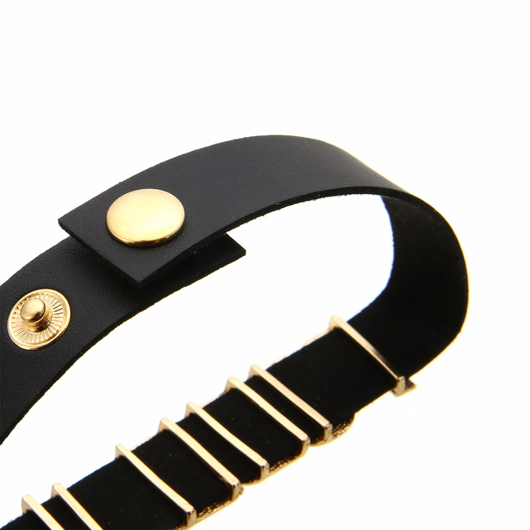 Fashion Cosplay Faux Leather Choker PUDDIN Letter Choker Necklace New Culture Party Choker For Women Jewelry