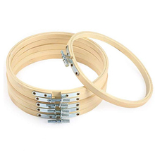 17.78 Cm Embroidery Hoop,Bulk Bamboo Ring Cross-Stitch Ring,