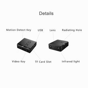 XD IR-CUT Mini caméra plus petit 1080P Full HD caméscope infrarouge Vision nocturne Micro caméra détection de mouvement DV