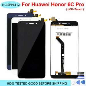 Image 1 - Voor Huawei Honor 6C Pro Lcd scherm En Touch Screen Digitizer Glas Vervanging Honor 6C Pro JMM L22 JMM AL10 AL00 Lcd + Gereedschap