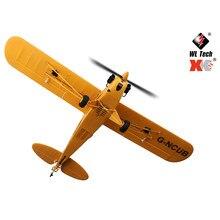 Xk a160 3d/6g sistema 650mm wingspan epp rc avião rtf controle de rádio aiplane modelo brinquedos rc avião rtf versão
