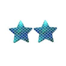 Multicolor Schuppig Stern Nippel Abdeckung Shiny Sexy Frauen Pezoneras Slef-adhesive Push Up Dessous Aufkleber Unsichtbare Lift Band NCS142