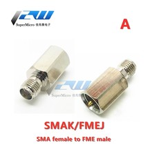 FME adapter FME male to SMA / BNC male and female two-way radio connector