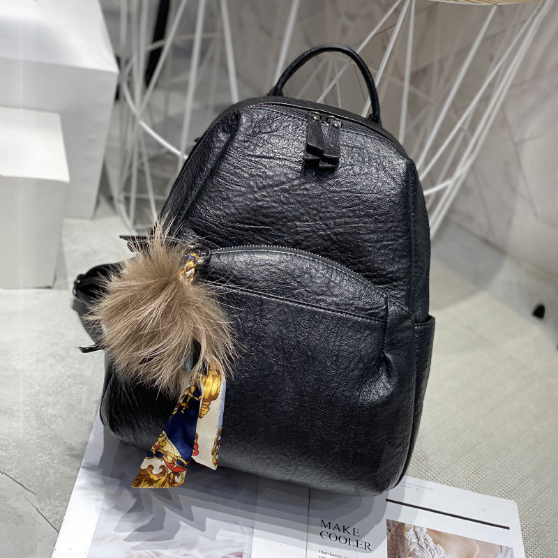 Backpack Women 2019 New Korean Travel School Bags for Teenage Girls Black Backpack Mochila Feminina Anti Theft Backpack