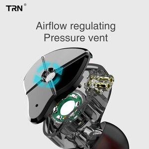 Image 4 - TRN ST1 1DD+1BA Hybrid In Ear Earphone HIFI Running Sport Earphone Earbuds Detachable Cable EDX ZST ZSN V80 V90 ES4 V10 T2 M10