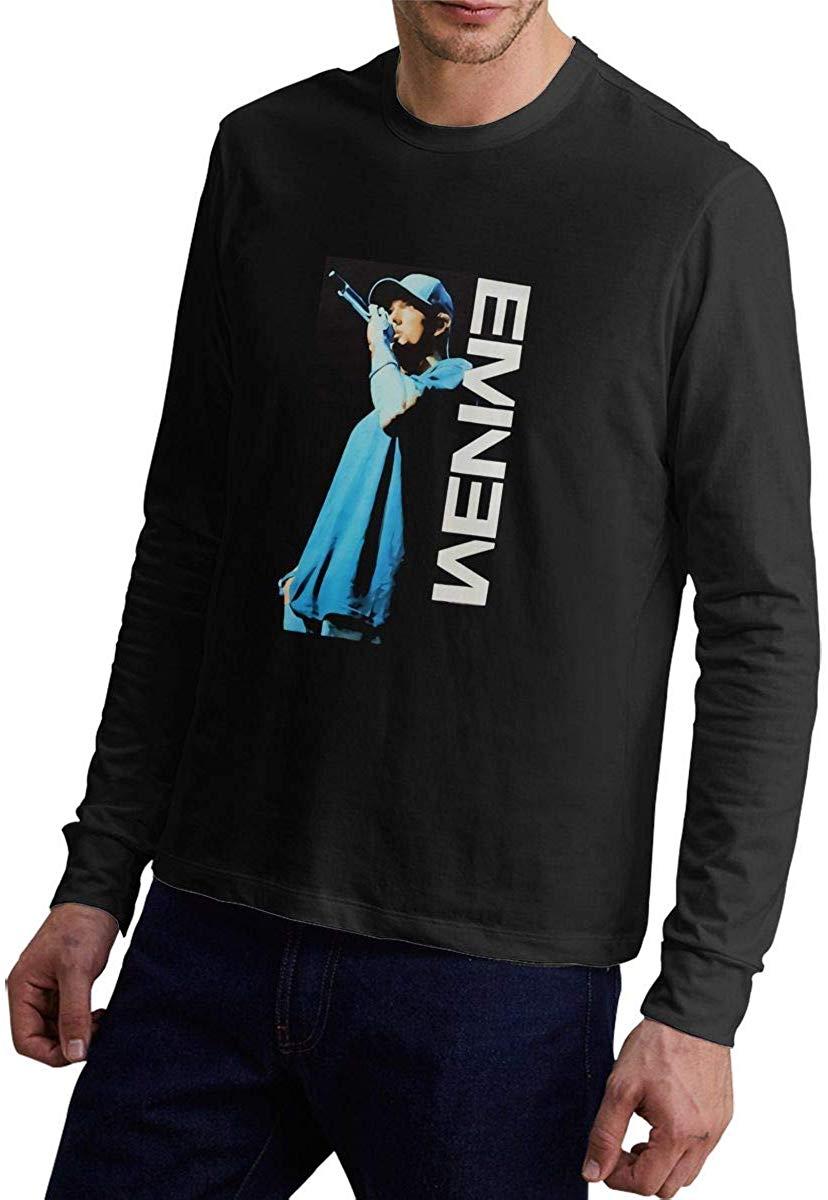 Eminem Mens Long Sleeve T-Shirt Tee Size S M L XL 2XL 3XL