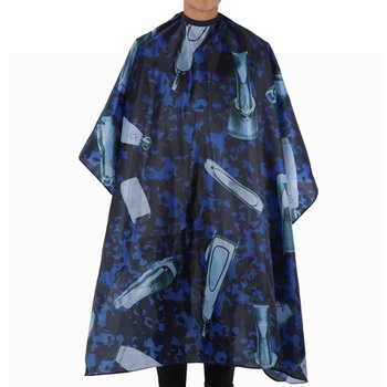 Professional Hairdressing Apron Hair Cutting Dyeing Gown Cape for Home Barber Shop 160 x 140cm Salon Barber Hairdressing Tools salon home use adult hair cutting cape hairdressing dye salon apron barber gown cosmetic tools