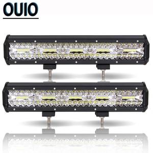 Image 3 - 300W 12 Inch LED Bar Ô Tô Offroad Xe Đèn Sương Mù Đèn 12V Combo Xà Đơn Đèn Pha Làm Việc cho Ánh Sáng SUV ATV Xe Kéo Xe Tải Đầu Kéo