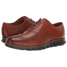 Броги; Мужская обувь; Коричневый цвет; Большие размеры 47; Повседневная