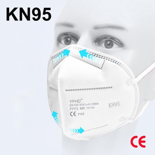 Reusable Face Mask KN95 Masks ffp2 Dustproof KN95mask Filter Filtration Protective Anti Dust KN95 Mouth Mask mascarillas ffp2