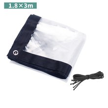Tarp-Cover PVC Clear Sheet Antifreeze Tarpaulin Plastic-Film Frost-Proof Insulation Heavy-Duty