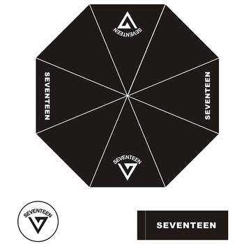 K-pop SEVENTEEN 17 Sunshade Beach Umbrella Kpop SEVENTEEN Folding Umbrella SEVENTEEN Fans Gifts Drop Shipping фото