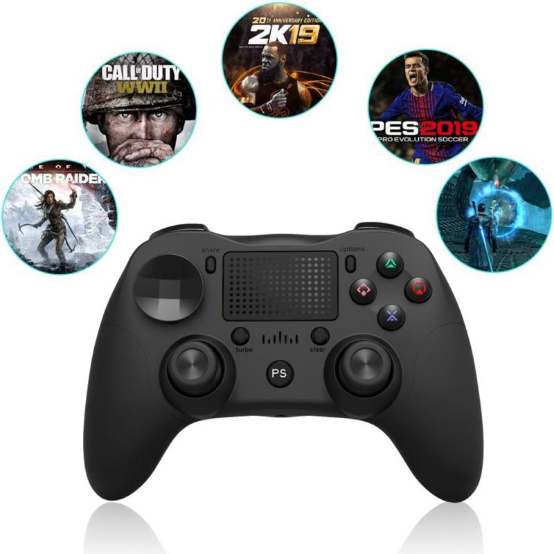 2019 Wireless Bluetooth Game controller for PS4 Dual Shock Vibration Joystick Gamepads for PS3 Console for PlayStation 4 replace 5