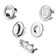 Tidy-Trim-Ring Bathroom-Accessories Overflow-Cover Round 1pcs Sink-Spare-Replacement