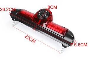 Image 3 - Araba ters dikiz kamera CCD araba fren lambası Led geri görüş kamerası FIAT DUCATO için X250 Citroen JUMPER III Peugeot BOXER III