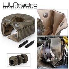 WLR   100% Full Titanium T3 Turbo Blanket Turbo Heat Shield Fit : T2 T25 T28 GT28 GT30 GT35 And Most T3 Turbo WLR1303 2T/TBF03