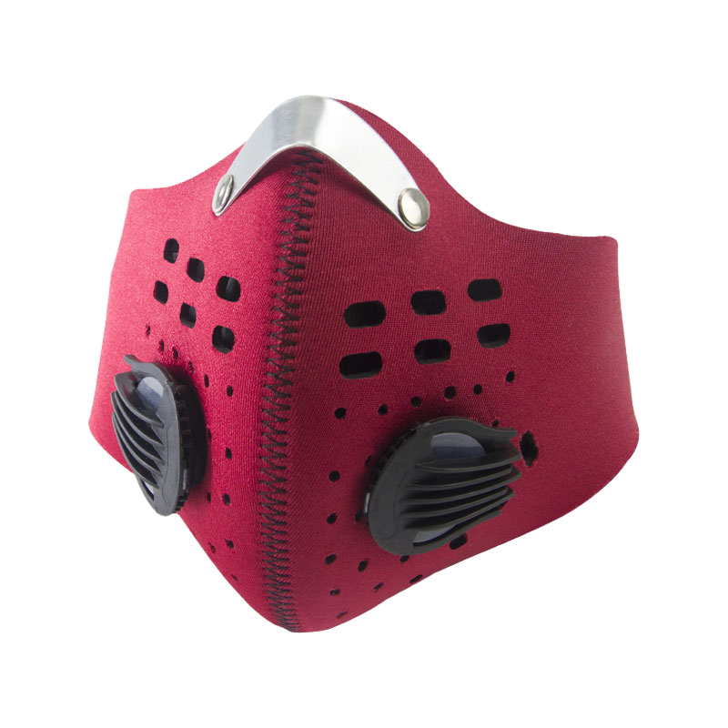 Anti Dust Respirator Mask With 2 Filters For Pollen Allergy Woodworking Running Custom N95 Haze Smog Pollution Face Mouth Maska