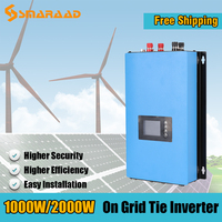 1000W 2000W Wind Turbine Generator Inverters Converters MPPT On grid Tie Quality Home Improvement Cheap Free Shipping