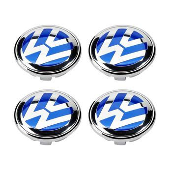 4x 56mm Blue Logo Emblem Badge Wheel Center Hub Cap 1J0 601 171 for VW Volkswagen Jetta Golf Beetle CC EOS GTI 4x 0280158026 06a906031bs 852 12220 fj670 fuel injector for volkswagen beetle golf golf city j etta j etta city 2 0l l4