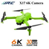 JJRC X17 GPS 5G WiFi FPV con telecamera 6K HD a 2 assi giunto cardanico posizionamento del flusso ottico pieghevole senza spazzole RC Drone Quadcopter RTF