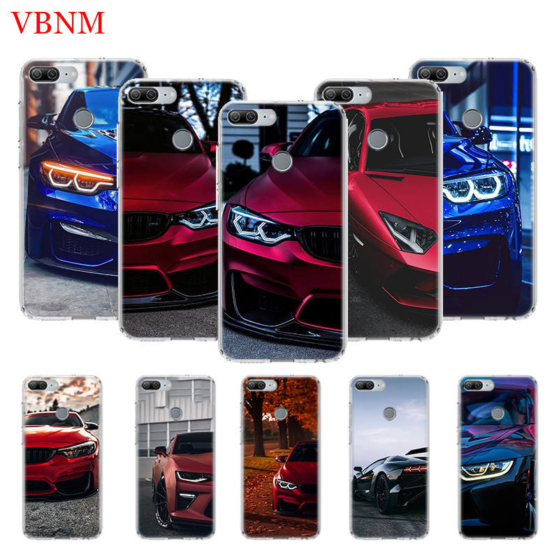 <font><b>Blue</b></font> Red for Bmw Cover Phone <font><b>Case</b></font> for Huawei Y9 Y5 Y6 Y7 2019 <font><b>Honor</b></font> 8X 8S 7A 7S <font><b>9</b></font> 10 <font><b>Lite</b></font> 8A 20i V20 Coque <font><b>Cases</b></font> image