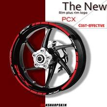 รถจักรยานยนต์Rimsสติ๊กเกอร์ชุดสติ๊กเกอร์ชุดสำหรับHonda PCX Pcx 150ใช้สำหรับสองล้อDecals