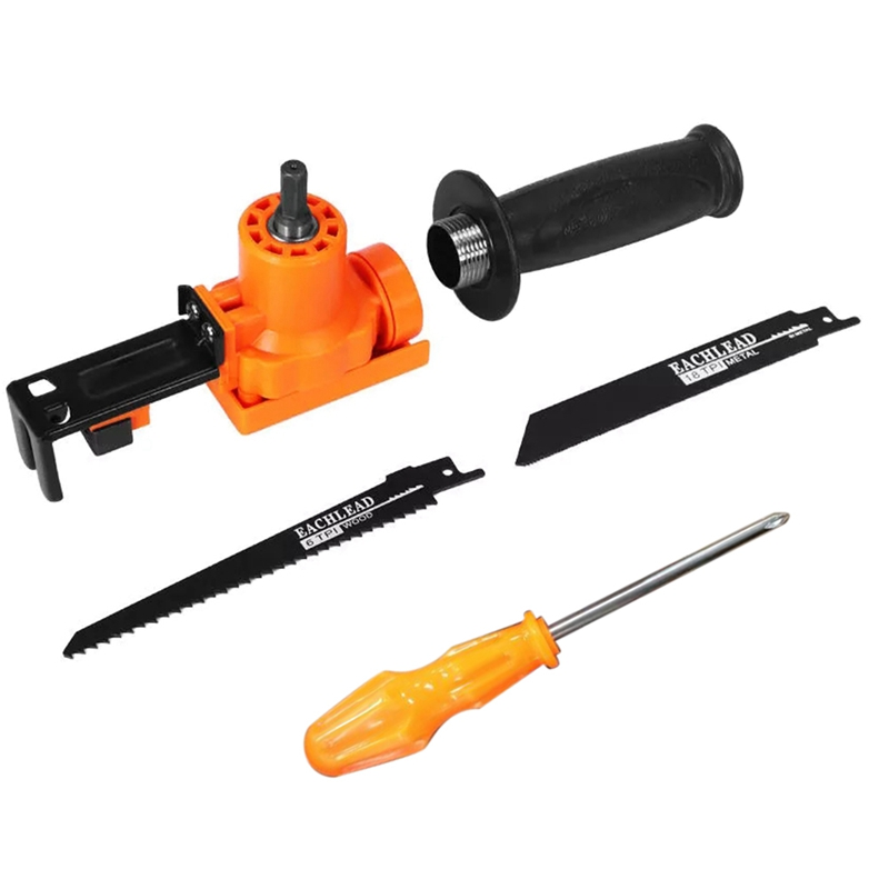 Reciprocating Saw Attachment Adapter Change Electric Drill Into Reciprocating Saw For Wood Metal Cutting Ht2611
