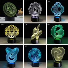 3D LED Light Abstract…