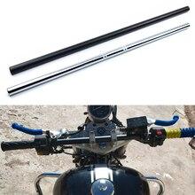 Universal 22mm Motorcycle Handlebar Straight Bar Vintage Motorbike for Royal Enfield Cafe Racer CG125 GN125 GS125 Steering Wheel