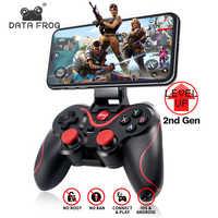 Dati Rana Gamepad Senza Fili Del Bluetooth di Sostegno Ufficiale App Controller di Gioco per Iphone Android Smart Phone per PS3 Pc Tv Box