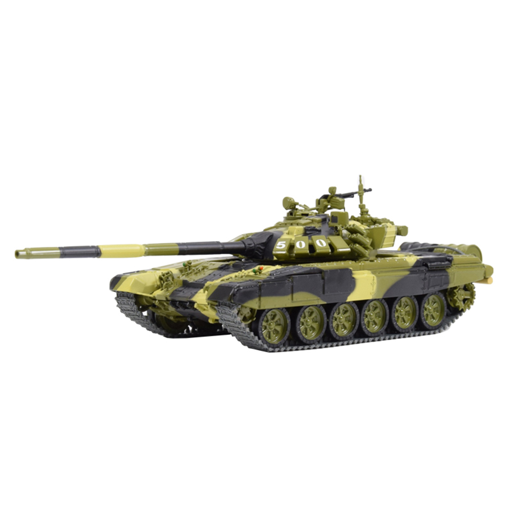 1:43 Scale Alloy Toy T-72B3 Tank Model Of Children's Toy Cars Original...