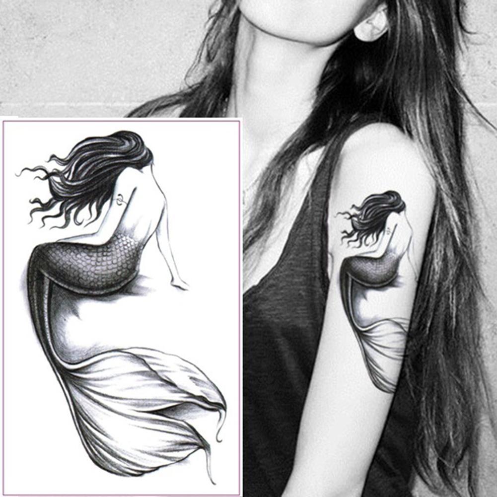 Arm Waterproof Temporary Fake Tattoo Sticker Women Girl Body Art Decal