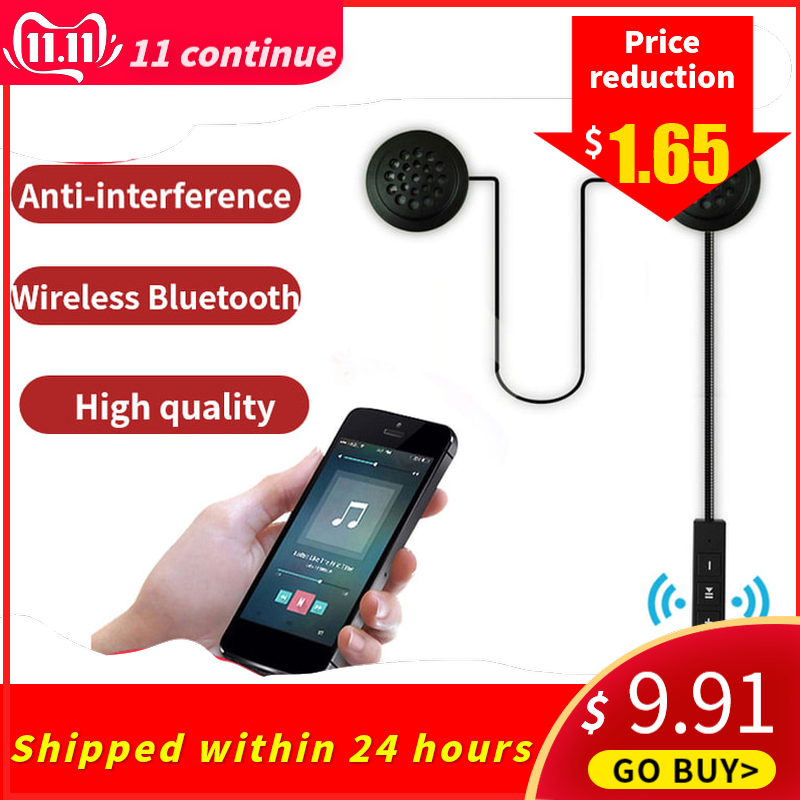 High Quality Wireless Bluetooth Anti-interference Intercom For Motorcycle Helmet Riding Hands Free Headphone With HD Microphone