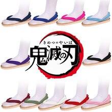 Ботинки для косплея аниме «клинок демонов» сандалии kamado tanjirou