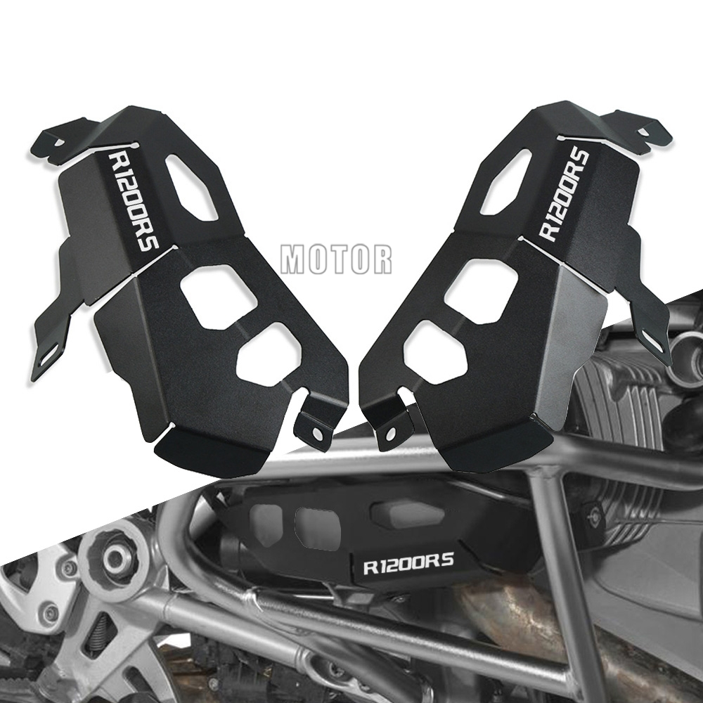 Motorcycle Engine Cylinder Head Valve Cover Guard Protector Alternator Cover Guard Accessories For <font><b>BMW</b></font> R1200RS R1200 RS R <font><b>1200RS</b></font> image