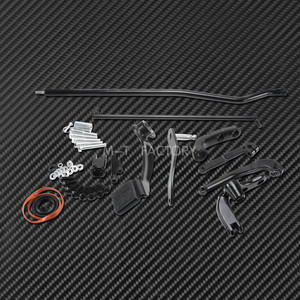 Image 5 - مجموعة وصلات ذراع التحكم الأمامية للدراجات النارية ، لـ Harley Dyna 2006 2017 Low Rider Fat Bob Street Bob Wide Glide FXDF