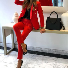 Women Suits Set 2020 New Casual Ladies Formal Business Party