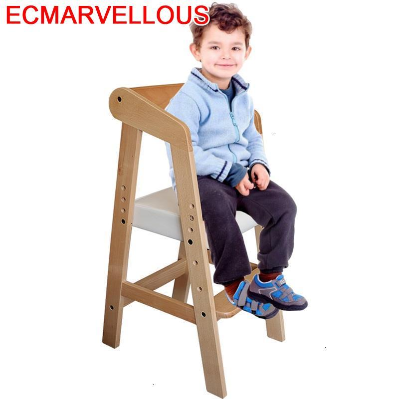 Meuble Madera Silla Learning Tower Pouf Pour Wood Cadeira Infantil Chaise Enfant Adjustable Kids Furniture Children Chair