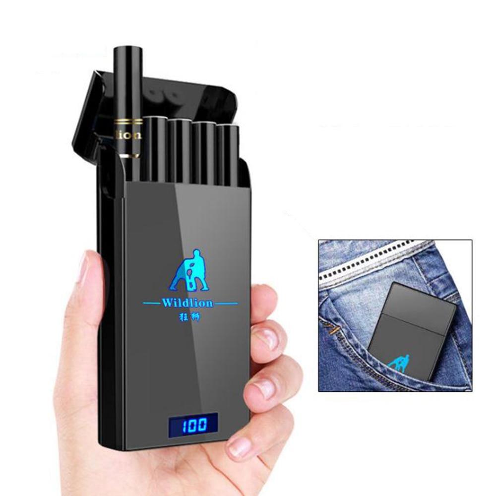 Vape Pod Starter Kit Ceramic Coil Pod LED Power Indicating System 180mAh Battery Vape Pen Electronic Cigarette