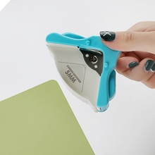 R4 DIY Corner Rounder 4mm Card Paper Punch Circle Pattern Photo Cutter Tool Scrapbook Office Notebook Puncher Cards Craft DIY