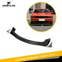 Carbon Fiber Front Bumper Lip For GT TA Dodge Challenger Front Bumper Lip 2015 - 2018 Splitters