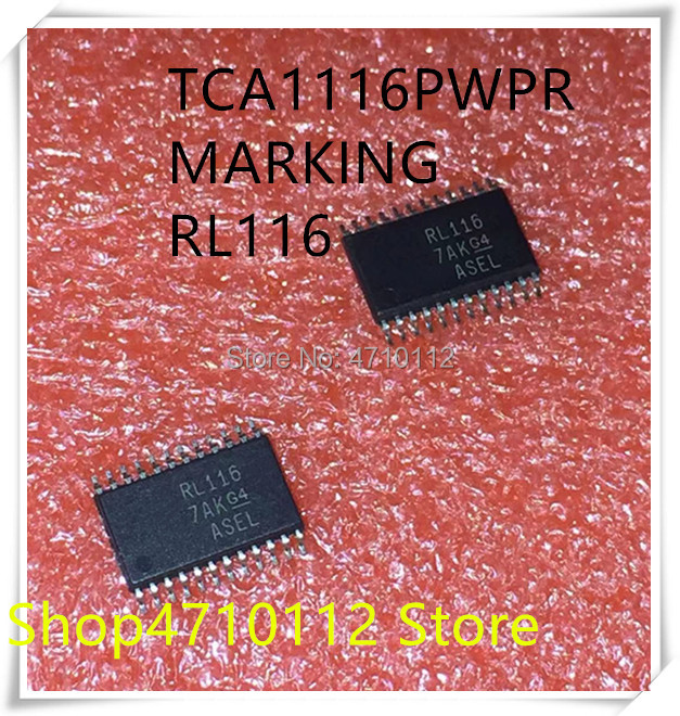 NEW 10PCS/LOT TCA1116PWR  TCA1116 MARKING RL116 TSSOP-24 IC