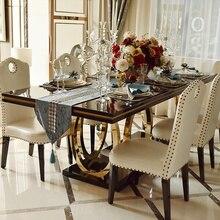 Мебель для дома роскошный обеденный стол набор