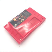 """10 יח\חבילה 100 ב 1 משחק מחסנית עבור SNES וידאו 16bit משחק כרטיס ארה""""ב/EURversion"""