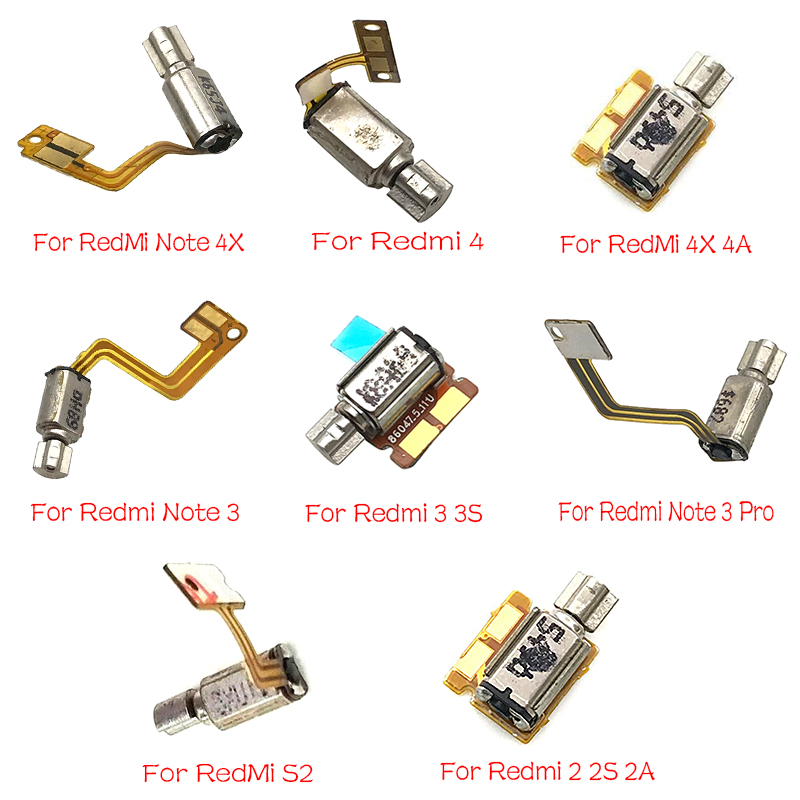 New Vibrator Vibrating Motor Flex Cable For Xiaomi Redmi 2 2S 2A 3S 4 4X 4A 6A 5 Plus 6 Pro Note 3 4X 5 5A S2 Parts